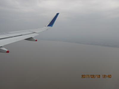 江南周遊(10)洋上飛行。
