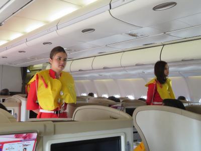 LCC初めての体験/AirAsiaプレミアムでバンコクはドンマン空港まで