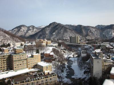 19 暖冬の北海道 ゆるりと定山渓温泉 ぶらぶら歩き暇つぶしの旅ー2