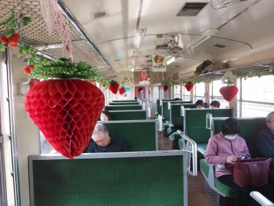 SLといちごを楽しむ栃木旅