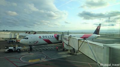 【12日間で世界一周1人旅⑫】デルタ国内線 ニューヨーク(JFK)→ロサンゼルス 搭乗記