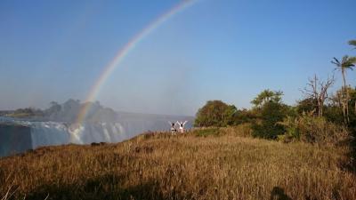 *見どころだらけのアフリカ南部7日間*③ヴィクトリアの滝