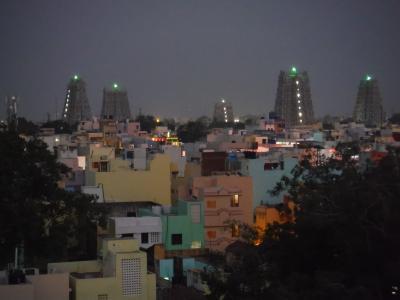 2019年1~2月バンコク経由で南インドに行こう!(7)塔門が光輝くマドライで寺院ざんまい