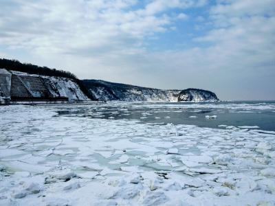 流氷の知床&流氷なしの網走