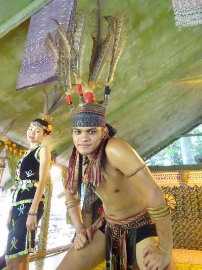真冬にあったかコタキナバル Vol.2 マリマリ文化村で異文化体験♪