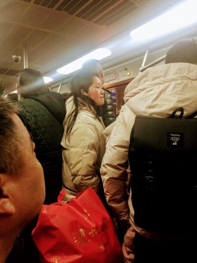 中国人の みな様と  ~   地下鉄 に  乗りましょう   ...........  2019
