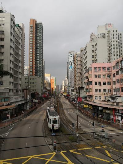 週末香港*まち歩きと蒸し鍋とお約束ファーストラウンジ