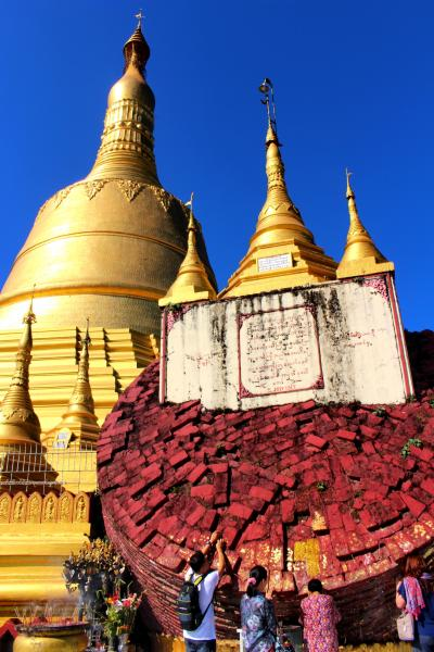 2っの黄金聖地をめぐるゴールデンミャンマー5日間(象キャンプ訪問、バゴー観光)