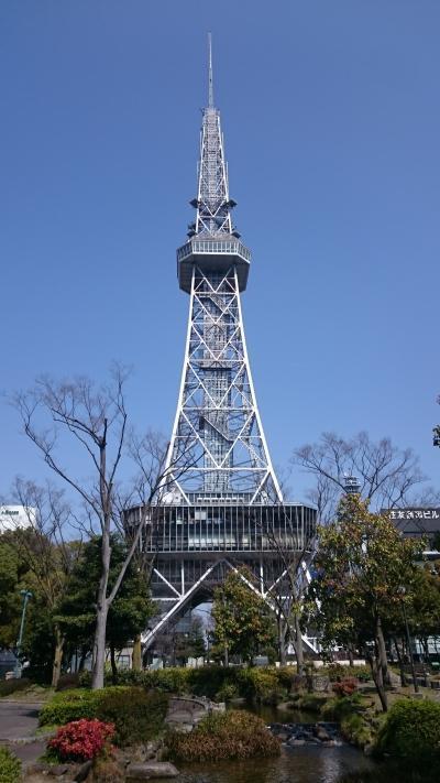 日本国内タワー巡り☆名古屋テレビ塔