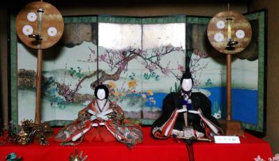 京都 堀川寺之内・宝鏡寺門跡(旧百々御所) 春の人形展~千両ヶ辻  ひな祭りを巡ります!