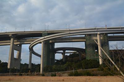 瀬戸内島巡り紀行 バスで瀬戸大橋を渡る 坂出から与島へ