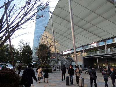 日本橋三越本店より東京駅八重洲口まで歩きました
