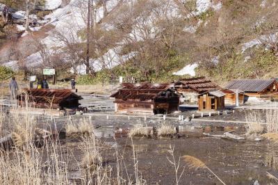 名残雪を求めて奥日光へ。竜頭の滝から湯ノ湖を経て湯元温泉でほっこり。