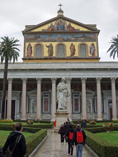 イタリア4都市 鉄道の旅 4 ローマ 教会アート巡礼