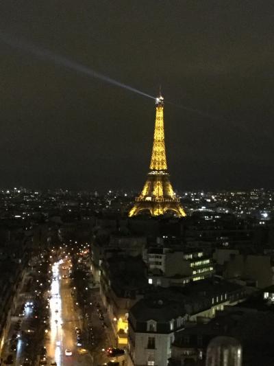 1月のパリ