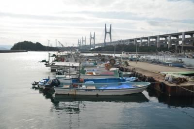 瀬戸内島巡り紀行 バスで瀬戸大橋を渡る 岩黒島から櫃石島へ