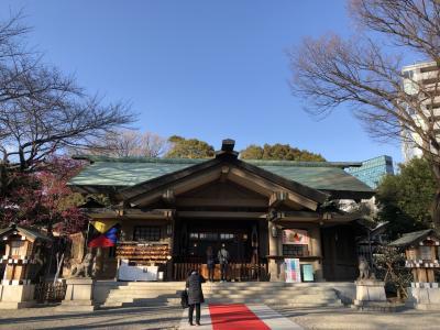 東郷神社参拝