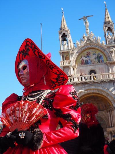 初参加!自前仮装でベネチアカーニバル * イタリア旅行②日目