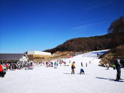 長野県「佐久スキーガーデンパラダ」でファミリースキー