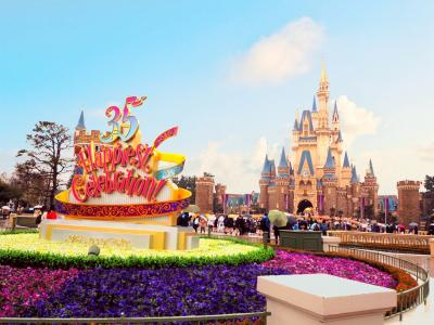 ディズニーリゾート&東京観光🗼 Land Day
