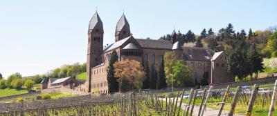 旅の最後で見つけた聖ヒルデガルト修道院、ライン川⇒マイン川⇒ドナウ川の旅、その1年目