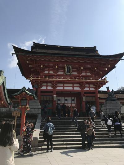 2019春 京都伏見の旅