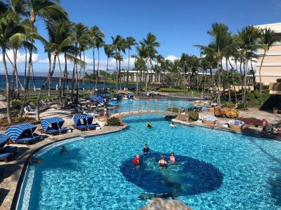 *50th Anniversary Hawaii 2018⑰ハワイ島*ヒルトンワイコロアビレッジ
