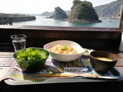 1号橋のたもと、海の隠れ家でランチをして帰ります@天草・長崎の旅【5】