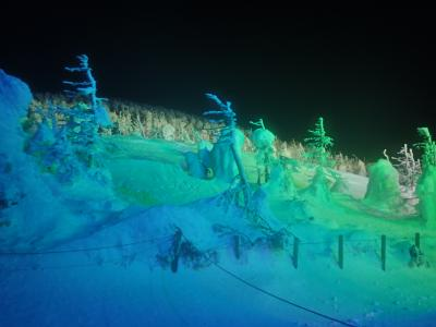 山形2泊3日-4☆蔵王樹氷ライトアップ・湯めぐり蔵王温泉