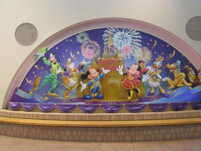 ★毎年恒例★1泊2日誕生日in35周年グランドフィナーレの東京ディズニーリゾート旅行1日目★