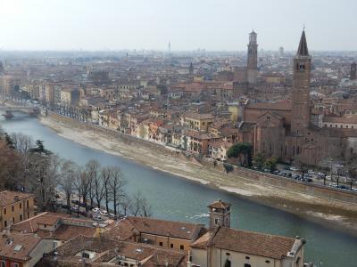 2019年イタリアを旅行しました。【2日目(1/2) ヴェローナ市内観光】