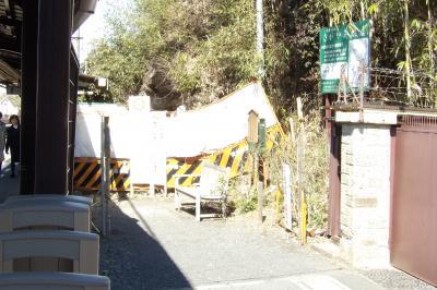 北鎌倉の「緑の洞門」