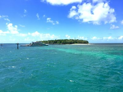 ケアンズ旅行 海と緑の島グリーン島へ