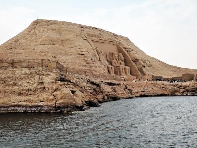 古代エジプト人に畏怖の念=神秘のエジプト・ナイル川クルーズ10日間 5(アブシンベル1)