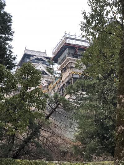 2019年冬  熊本城はハイブリッド城にリボーン中ばい。