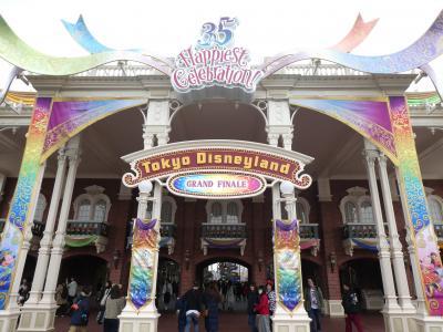 2019年3月 グランドフィナーレの東京ディズニーリゾートへ!