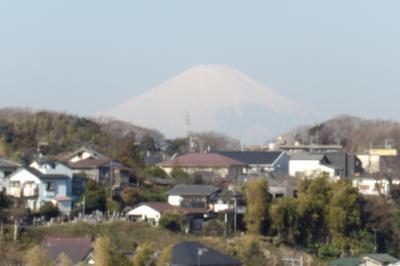 改札抜けたら2分で富士山