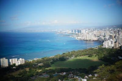 2019ハワイアン航空でハワイ島と思い出のオアフ島へ♪⑤オワフ島でダイアモンドヘッドに登る
