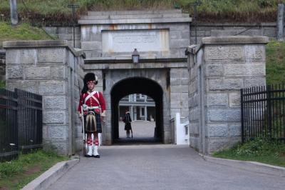 カナダ東部5州、ドライブ旅行2018 Day10-2(ハリファックス・シタデルでカナダの軍隊と戦争の歴史を知る)