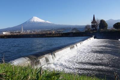 綺麗な雪が積もった富士山を見ながら散歩して来ました 2019.03.08