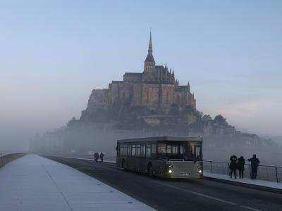 パリとモンサンミッシェルの旅