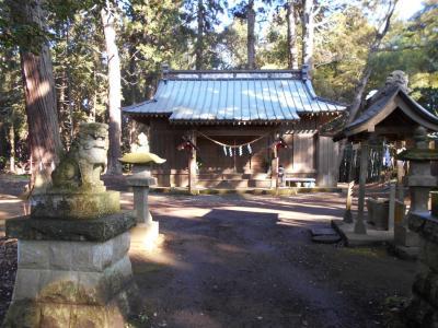 ヤマトタケルの旅 上総国・市原2、小鷹神社に巡り会う