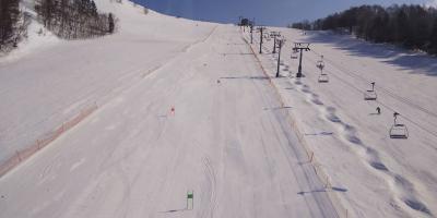 マウントレースイ スキー旅行記 (2)