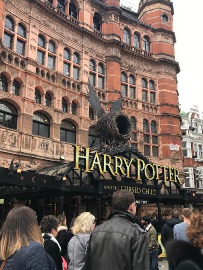 ロンドンのんびり8日間・50歳過ぎてもわくわくな一人旅④ハリーポッターと呪いの子