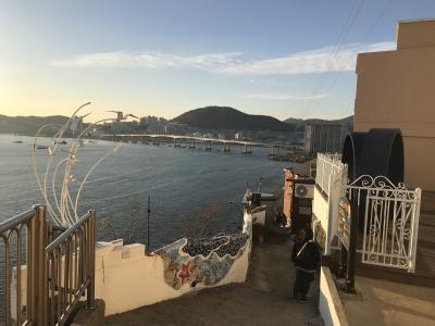 釜山で海の見えるカフェ~慶州日帰り旅行