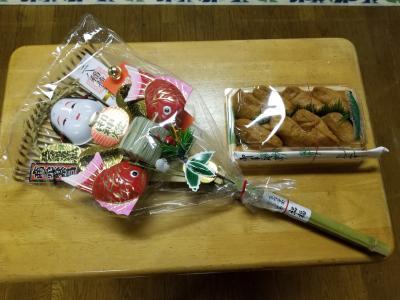 真清田神社の初午へ行きました