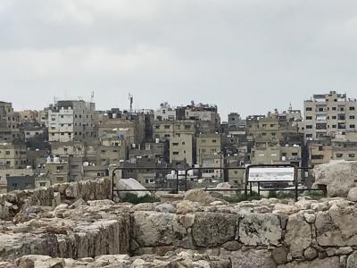 初めてのヨルダン、首都アンマンの新市街と旧市街