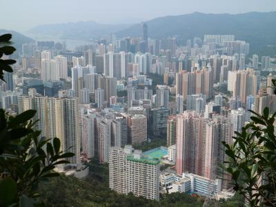 香港 九龍水塘~石梨貝水塘~城門水塘