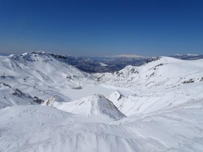 絶景の雪山♪安達太良山登山&二本松
