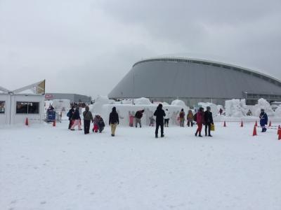 初めての雪祭り①